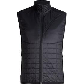 Icebreaker Helix Vest Herr black/jet heather